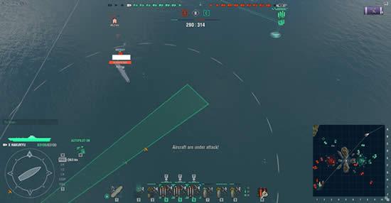 WoWS 収束魚雷