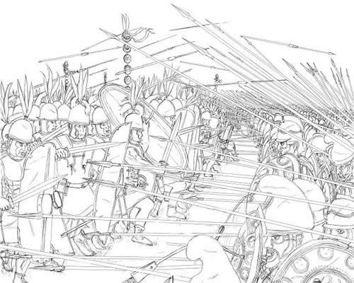 ローマvsマケドニア 重装歩兵