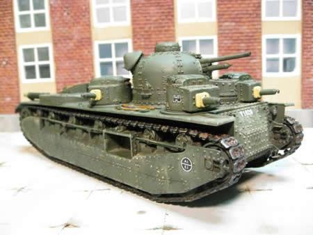 イギリス 多砲塔戦車 A1E1 インディペンデント