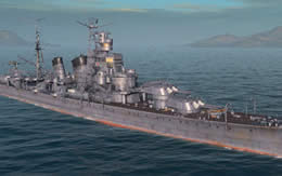 WoWS 日本 巡洋艦 青葉 サムネイル