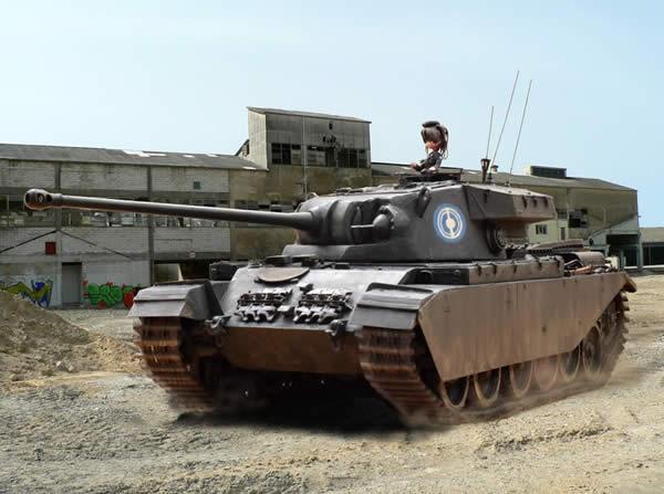 イギリス 戦車 センチュリオン 愛里寿 搭乗