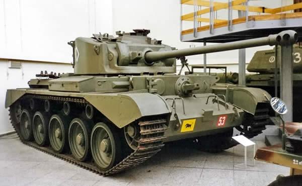 イギリス コメット巡航戦車