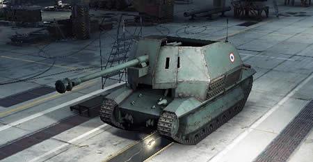 WoT フランス Tier3 課金駆逐戦車 FCM 36 Pak 40