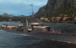 WoWS ソ連 Tier5 課金駆逐艦 グレミャーシチイ サムネイル