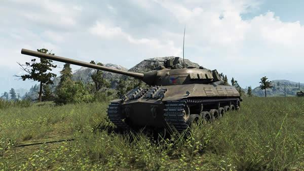 WoT チェコスロヴァキア 中戦車 Skoda T50
