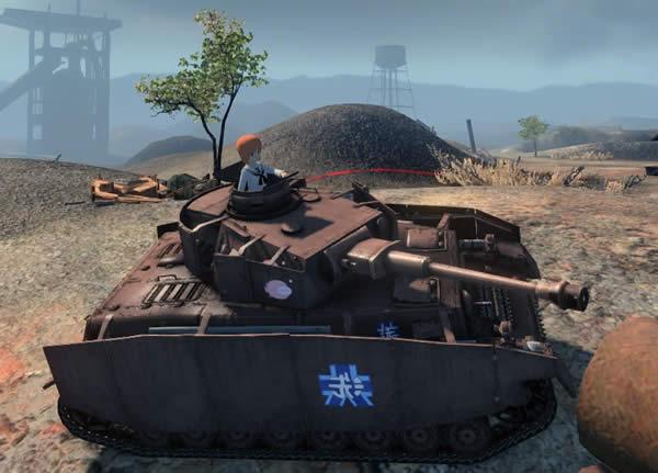 WoT IV号戦車H型 ガルパン あんこう仕様