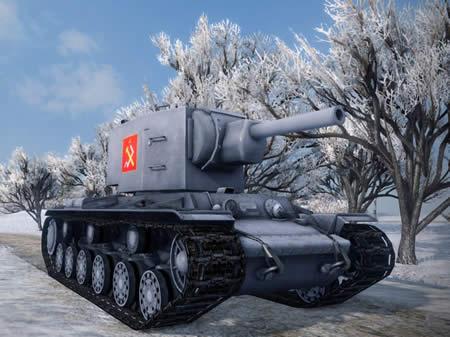 WoT KV-2 ガルパン プラウダ高校仕様