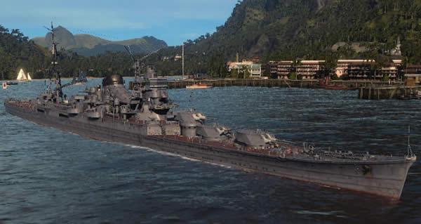 WoWS 日本 巡洋艦 伊吹 Tier9