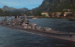 WoWS 日本 巡洋艦 伊吹 Tier9 サムネイル