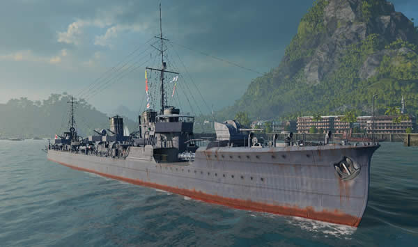 WoWS 日本駆逐艦 睦月