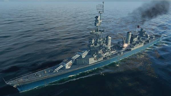 WoWS アメリカ Tier7 巡洋艦 ペンサコーラ