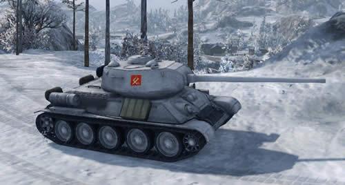 WoT T34-85 ガルパン プラウダ高校仕様