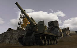 WoT ソ連 Tier7 自走砲 S-51 サムネイル