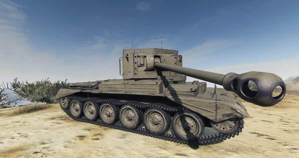WoT イギリス Tier7 駆逐戦車 チャレンジャー