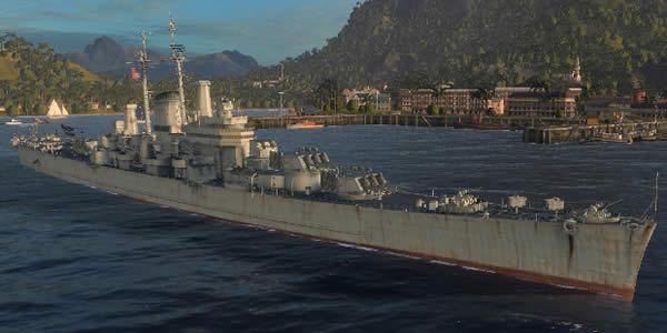 WoWS アメリカ Tier10 巡洋艦 デモイン