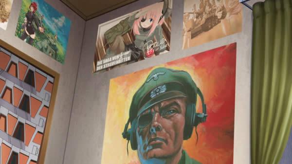 ガールズ&パンツァー 秋山優花里の部屋 ポスター 黒騎士物語 萌えよ戦車学校 どくそせん