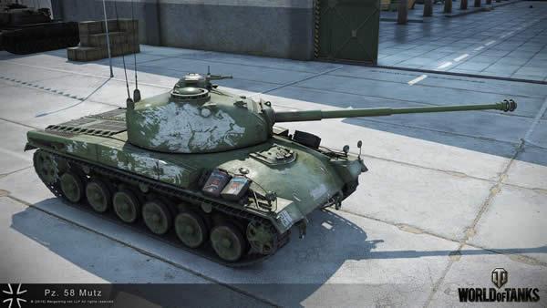 WoT Panzer 58 Mutz ドイツ Tier8 課金中戦車