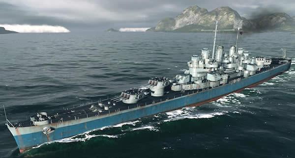 WoWS アメリカ 巡洋艦 クリーブランド