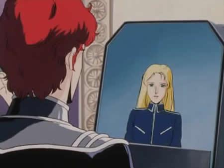 銀河英雄伝説 銀河帝国 受付の女性  閣下は只今、重要な軍事会議に出席中です