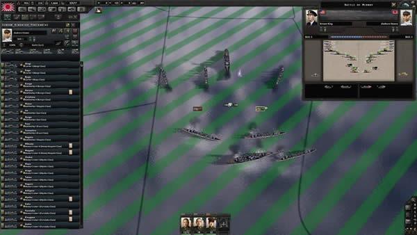 HOI4 ゲーム画面 03 海戦
