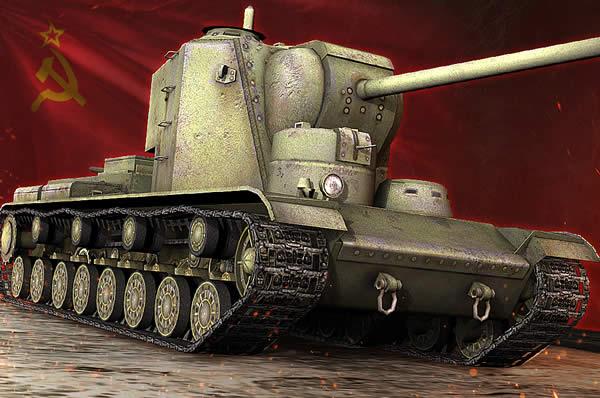 WoT Tier8 ソ連 重戦車 KV-5
