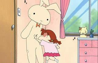 クレヨンしんちゃん ネネちゃん ウサギのぬいぐるみをボコボコにするところ