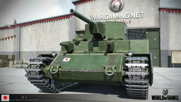 WoT 日本重戦車 オイ車 WG背景