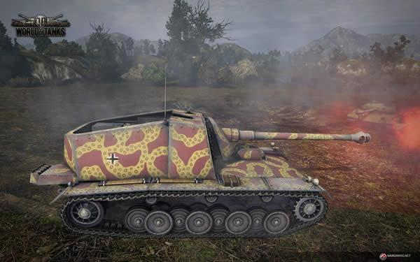 WoT ドイツ Tier7 駆逐戦車 シュタール・エミール