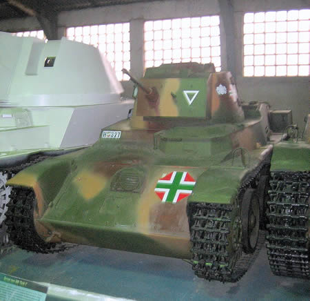 ハンガリー 戦車 トルディI