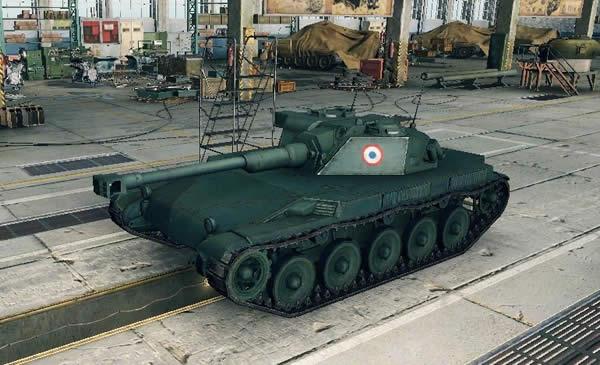 WoT フランス Tier5 軽戦車 ELC AMX