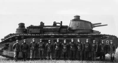 フランス 多砲塔重戦車 FCM2C