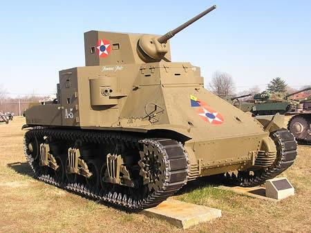 アメリカ M2中戦車