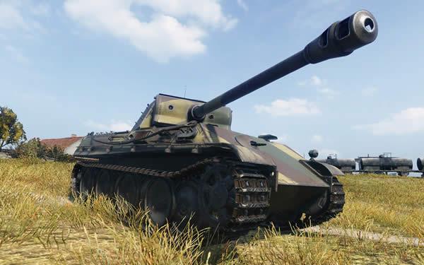 WoT ドイツ Tier7 中戦車 V号戦車パンター