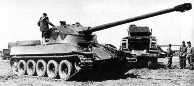 フランス 戦車 ロレーヌ 40t ゴムタイヤ
