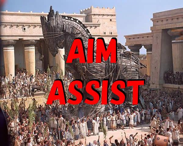トロイの木馬 AIM ASSIST