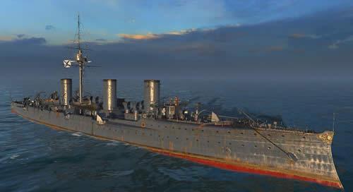 WoWS ソ連 Tier2 巡洋艦 ノヴィーク