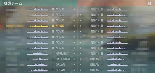 WoWS ソ連 祭り NOVIK