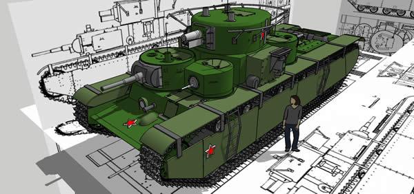 ソ連 T-35 重戦車