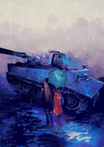 ティーガー戦車っぽい
