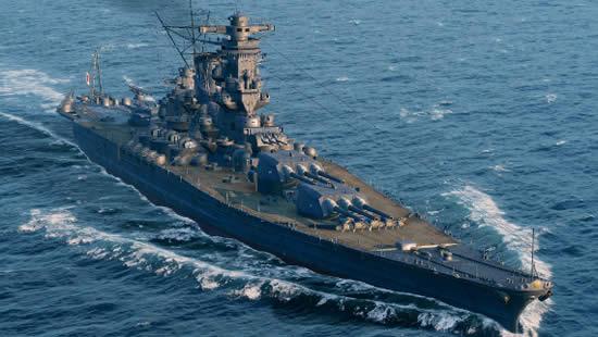 WoWS 日本 Tier10 戦艦 大和