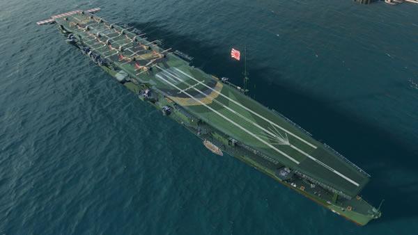 WoWS 日本 Tier5 空母 瑞鳳