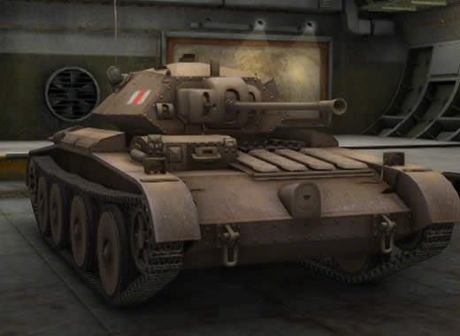 WoT イギリス Tier4 軽戦車 カヴェナンター巡航戦車