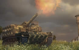 WoT アメリカ Tier6 自走砲 M44 サムネイル