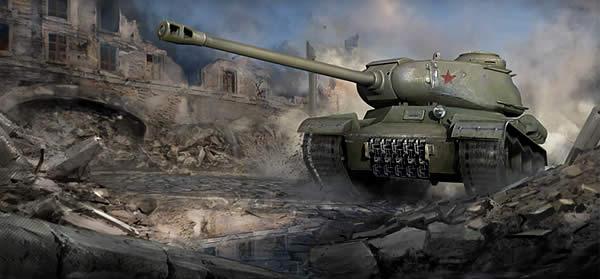 WoT ソ連 Tier7 重戦車 IS