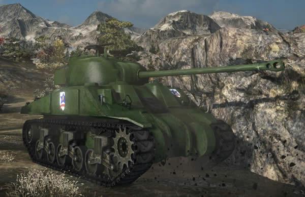 WoT イギリス Tier6 中戦車 シャーマン・ファイアフライ  ガールズ&パンツァーver