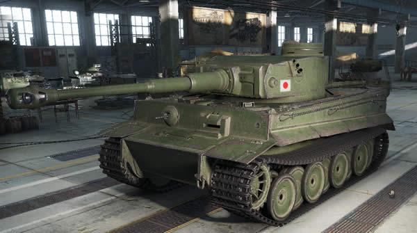 WoT 日虎 Heavy Tank No.VI 日本 Tier6 課金重戦車Heavy Tank No.VI 日本 Tier6 課金重戦車