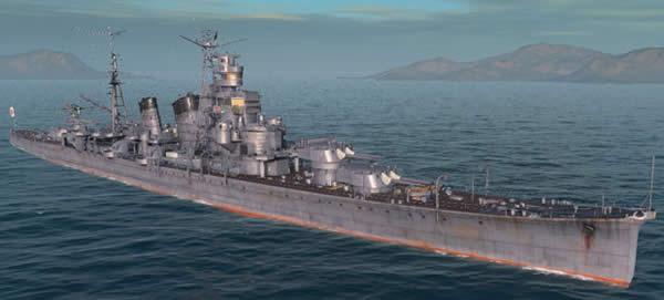 WoWS 日本 Tier6 巡洋艦 青葉