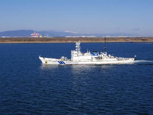 海上保安庁 知床型巡視船
