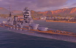 WoWS 日本 Tier7 戦艦 長門 サムネイル