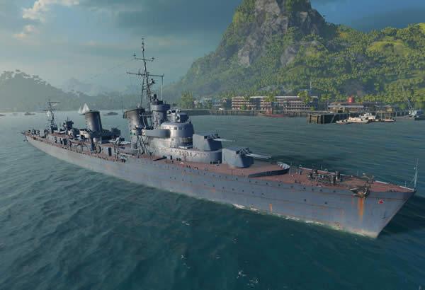 WoWS ソ連 Tier8 駆逐艦 タシュケント